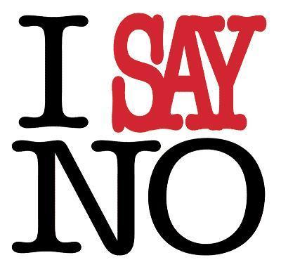 راه هایی برای نه گفتن