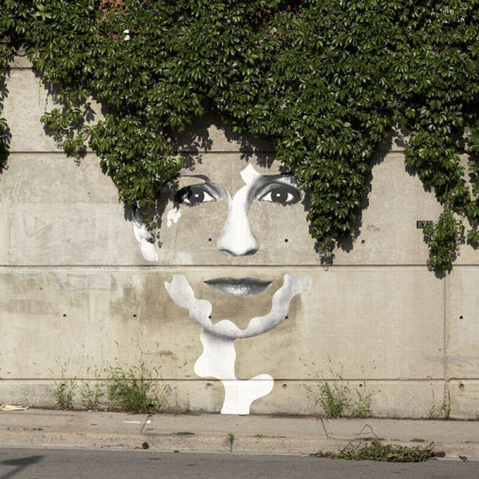 شاهکارهای نقاشی در خیابانها