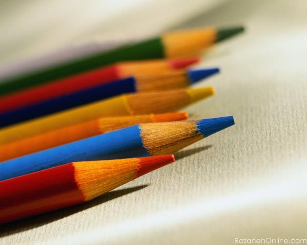 شخصیت شما با رنگهای مداد رنگی