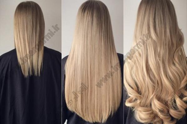 اضافه کردن مو (اکستنشن مو)